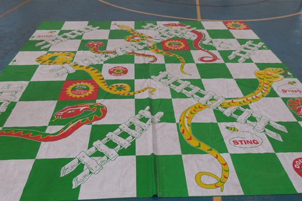 Snakes and Ladders for the kids.